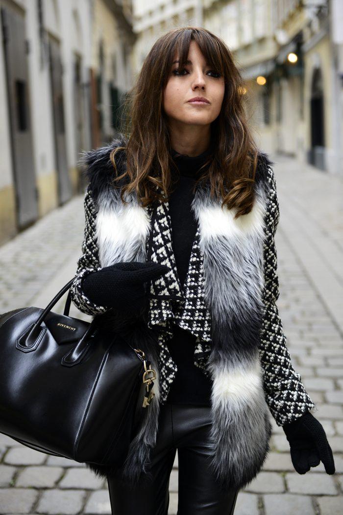 Cómo llevar tu chaleco de pelo  - BUHO 44643c59d1a6
