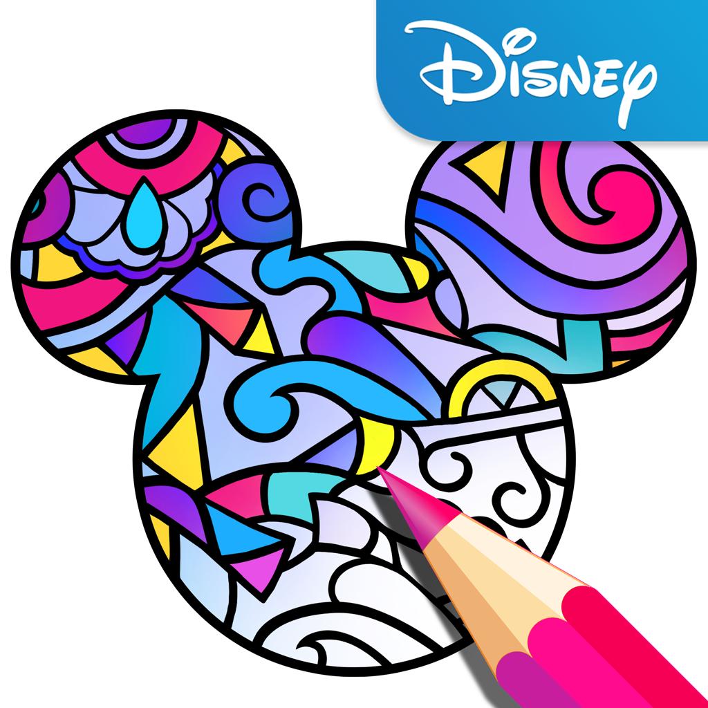 Disney Lanza Una App Para Adultos De Colorear