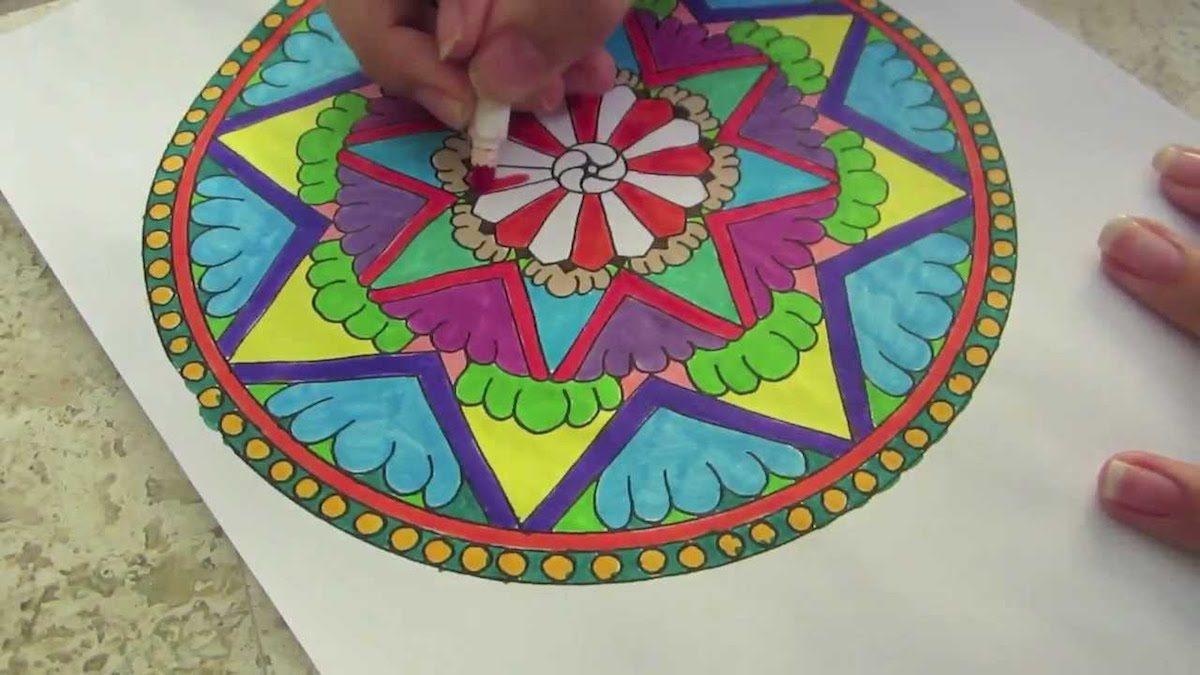 Para Qué Colorear Mandalas Buho