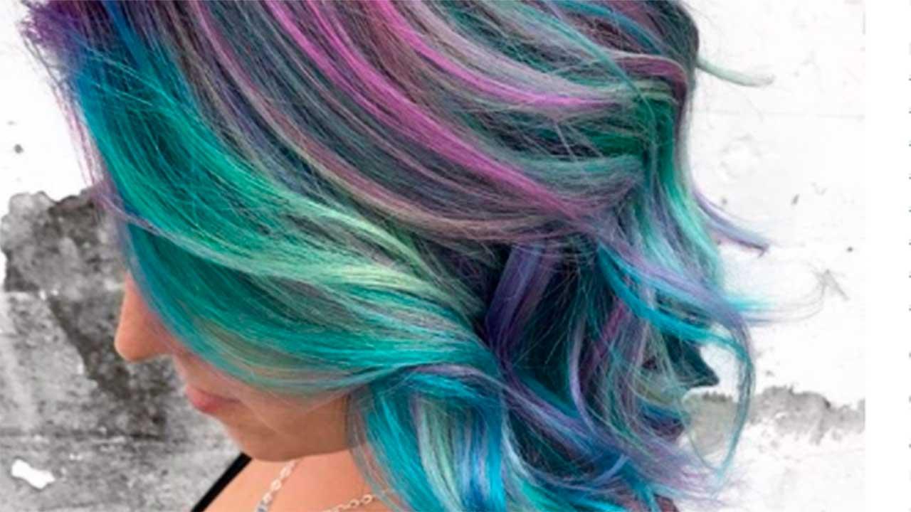 Nuevo look de color de pelo
