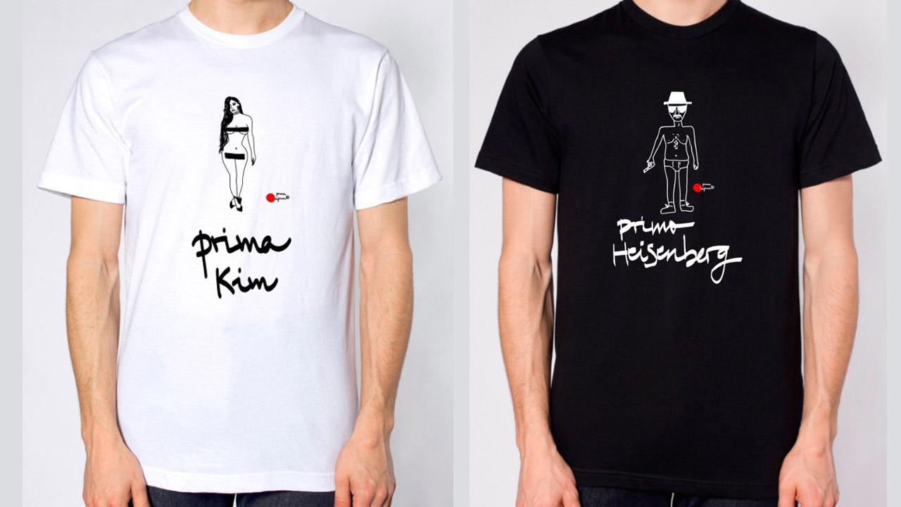 Prima Lejana: Las camisetas que han conquistado a las estrellas