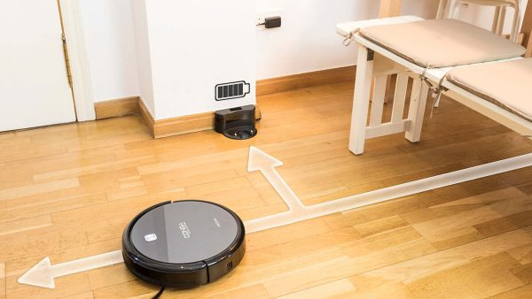 el robot aspirador Conga cuenta con la opción de vuelta a base