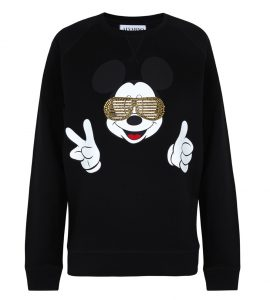 Sudadera de Mickey Mouse en negro de Alvarno