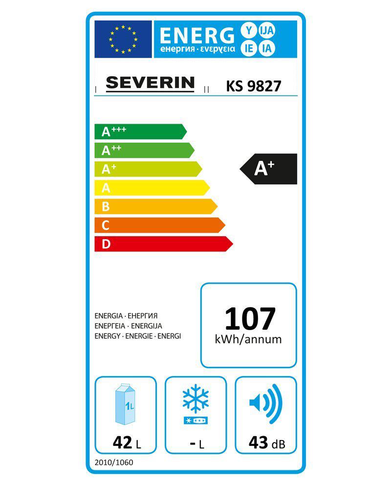 mini nevera eficiencia energética