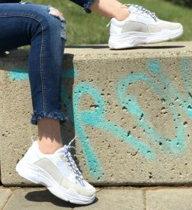zapatillas blancas invierno